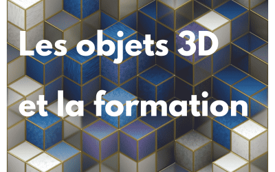 Comment créer des ressources 3D aux fins de formation ?